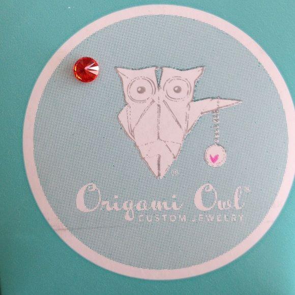 Origami Owl Orange Accent Charm Origami Owl Origami And Customer