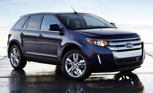 Redesigned 2015 Ford Edge Suv Piles On The Features Ford Edge