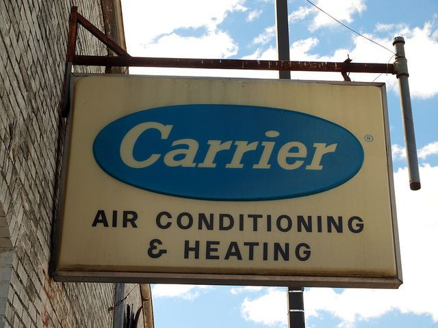 Carrier Air Conditioning Sign Heating And Air Conditioning Air
