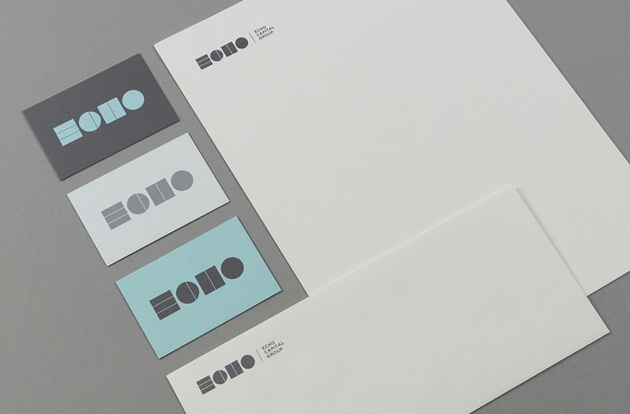 New logo and identity for echo capital by trf bpo investment logo business cards headed paper and compliment slip designed by trf for investment firm colourmoves