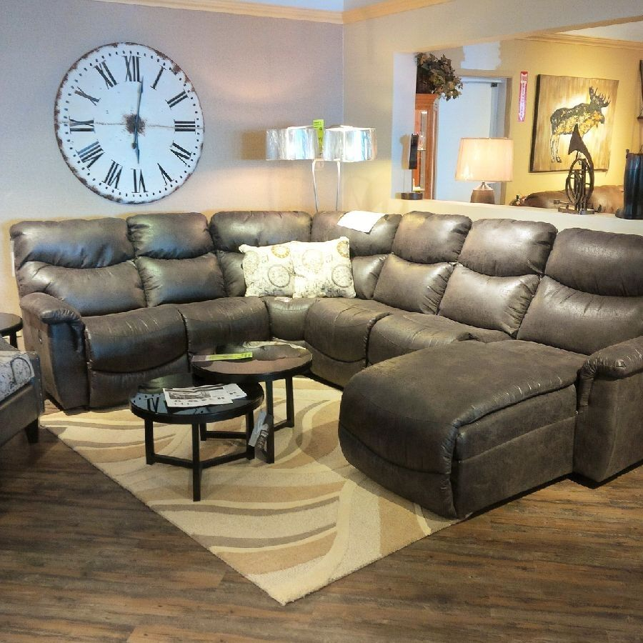 Lazboy James Sectional Chill Room Couches Living Room Furniture