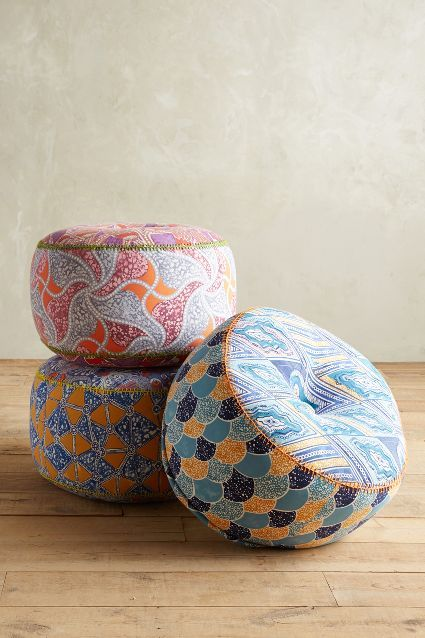 Kaneena Pouf Anthropologie Could Use These Poufs In My Simple Anthropologie Pouf