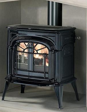 vermont castings intrepid ii catalytic cast iron wood burning stove rh pinterest com