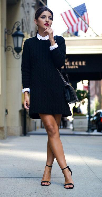 Alexandra From Dress And Knit Pereira Shirt Is Wearing A Sweater WEIDH29