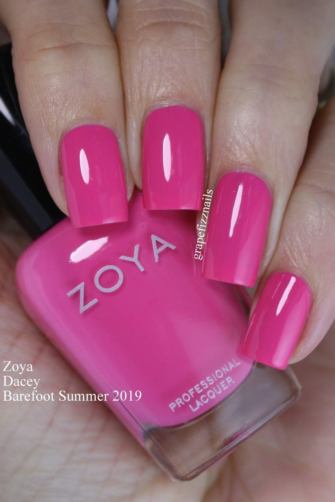 Zoya Barefoot Summer 2019 With Images Nails Natural Gel Nails
