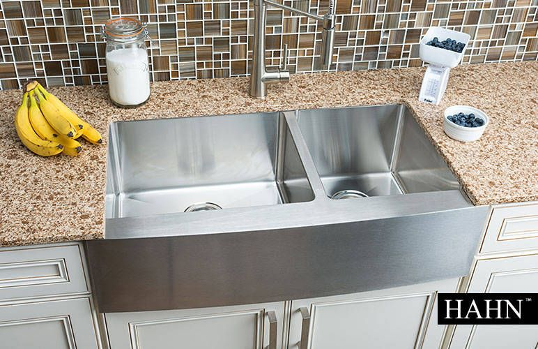 Hahn Chef Series Handmade Extra Large 60 40 Farmhouse Sink 539 99