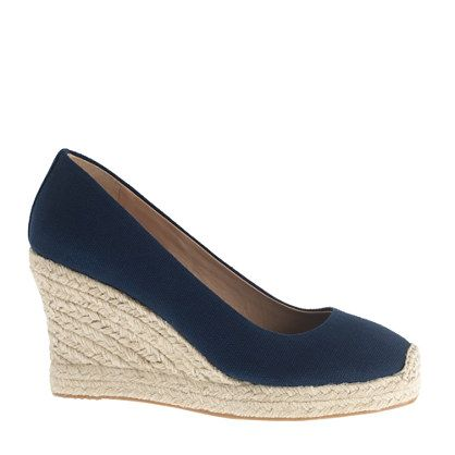 007444ba85c For the Corkswoon, this is J Crew's Seville wedge espadrilles. Thx ...