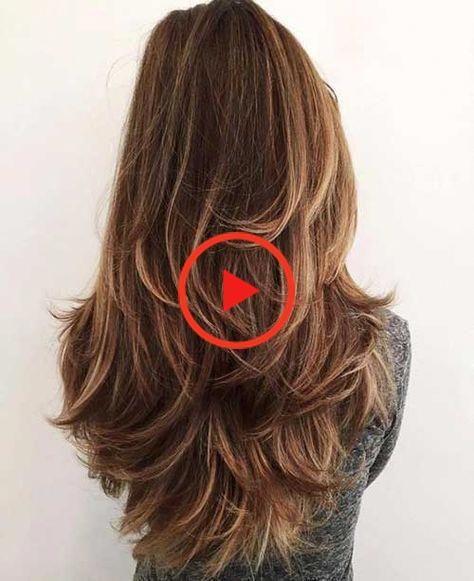 Photo of Heute präsentieren wir 20 geschichtete lange Frisuren, die jede Frau sehen muss, einschließlich eines Stils, den die Frau trägt