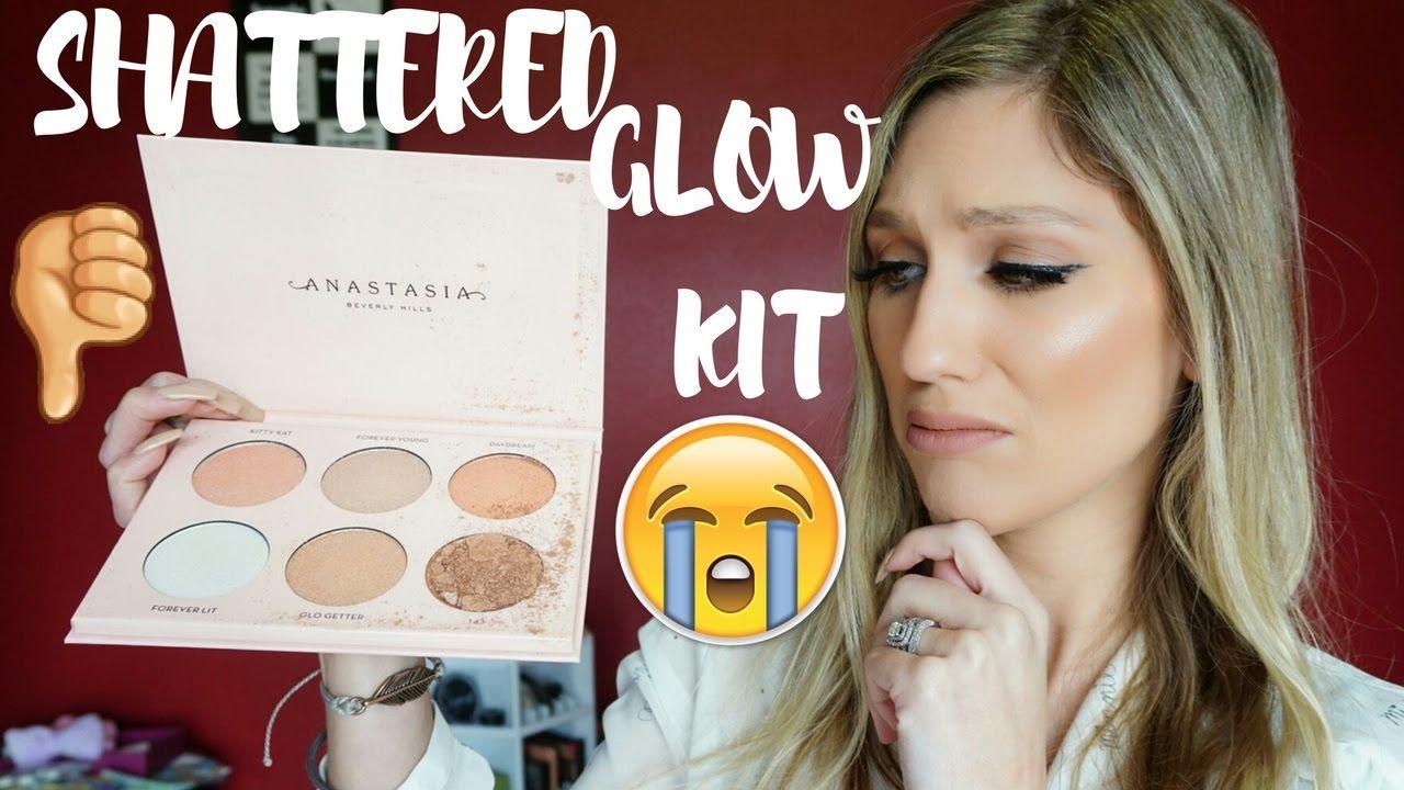 "Shattered Glow Kit ""�anastasia Beverly Hills X Nicole Guerriero Glow Kit"