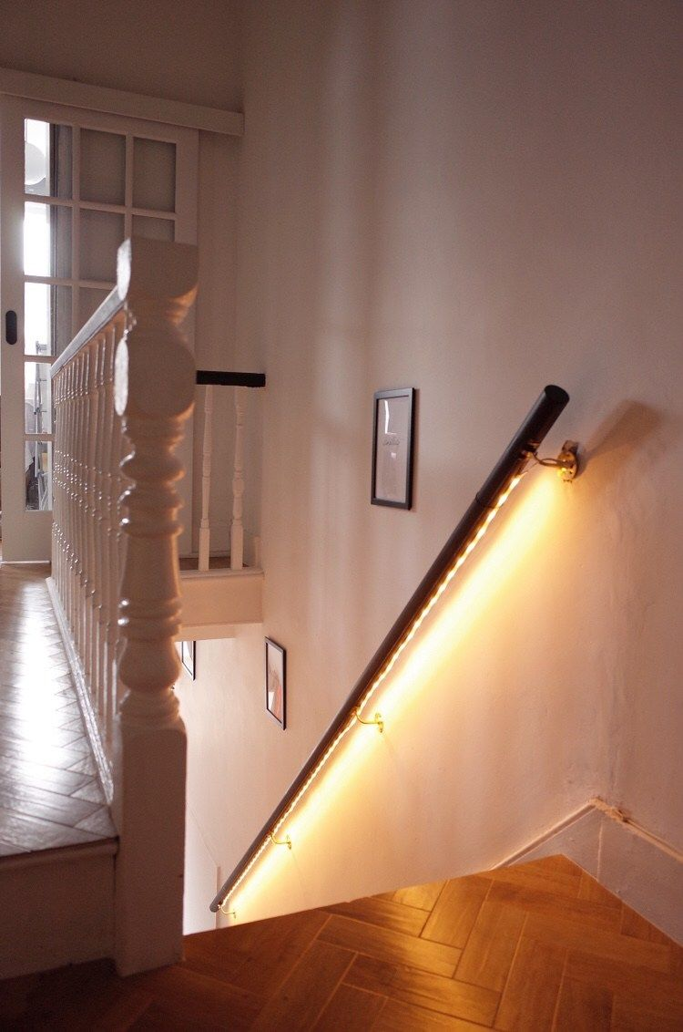 How to Add Floating LED Light Feature To Your Staircase