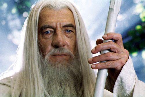Gandalf- Ian McKellen