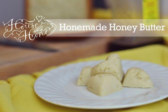 Honemade Honey Butter!