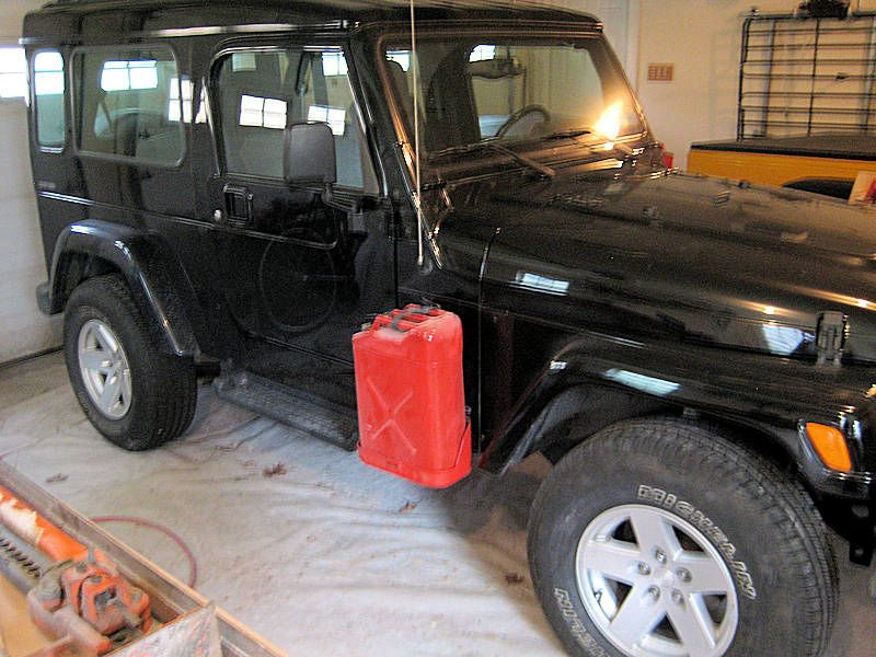 Side Mount Jerry Can Holders Jerry Can Can Holders Jeep Parts