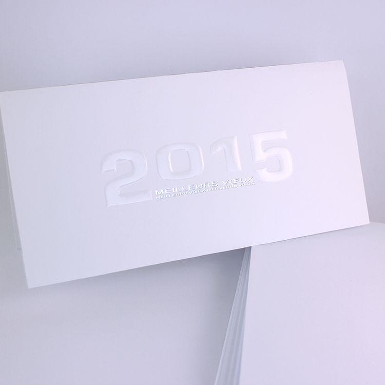 Cartes de voeux 2015 www.voeuxselection.fr Réf 20504