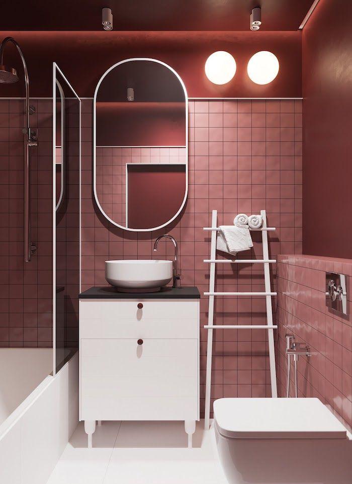 toallero escalera | Diseño de interiores de baño ...
