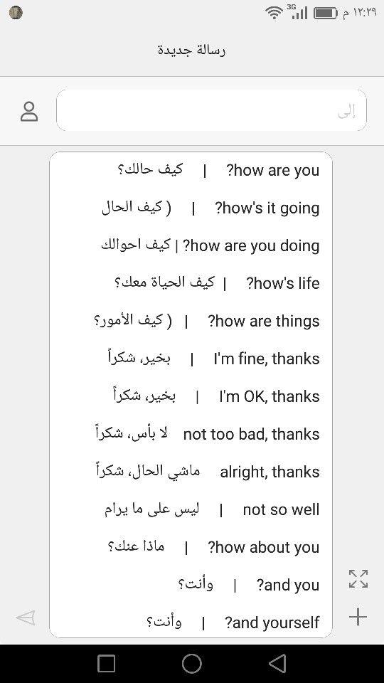Learning Arabic Msa Fabiennem Learn English Words Learn Arabic Language English Words