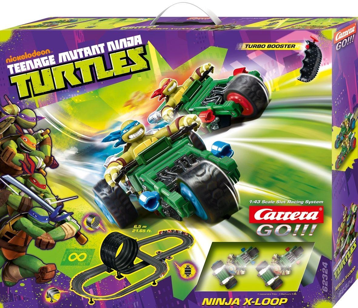 Carrera Go Tmnt Ninja X Loop Slot Car Set Jadrem Toys Ninja Teenage Mutant Ninja Teenage Mutant Ninja Turtles