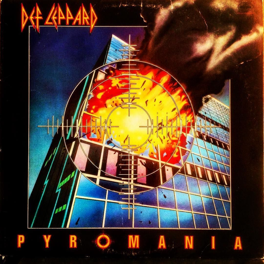 Birthday Record 1983 Def Leppard Pyromania My Siblings Are 15 11 And 9 Years Older Than Me By The Ti Def Leppard Albums Def Leppard Def Leppard Pyromania