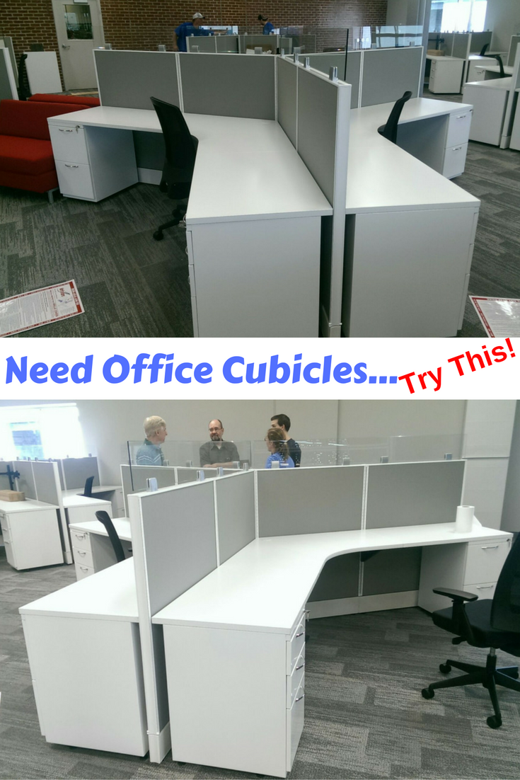 Used Cubicles Kansas City Many Configurations Available  Used