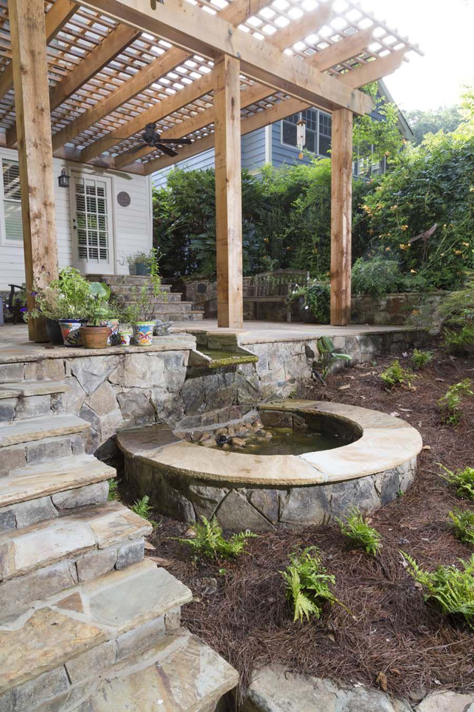 Landscape Installation Planting And Design Pike Nurseries Landscape Design And Lan Landscape Design Water Features In The Garden Nursery Landscape Design
