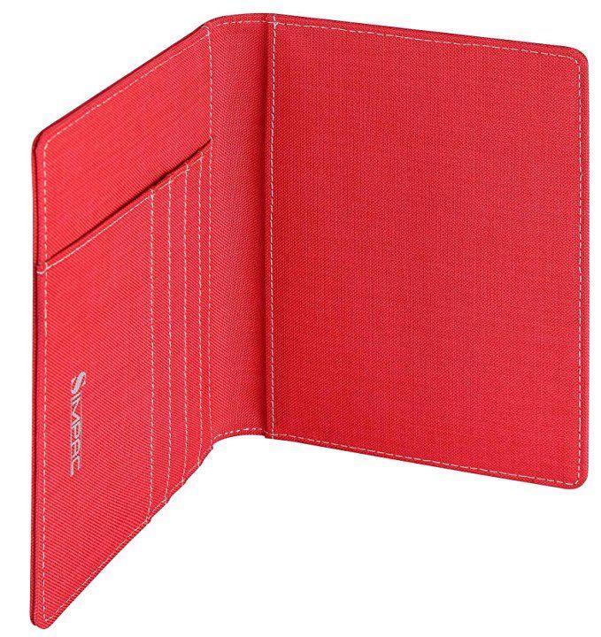 SimpacX Fabric Passport Holder Wallet Cover Case RFID Blocking Travel Wallet