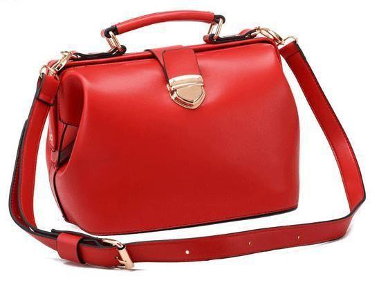 Tote bolsas Frete Grátis saco de 2013 mulheres coreanas pacotes doutor de couro bolsa de ombro pacote Diagonal Retro em Bolsas de Ombro de M...
