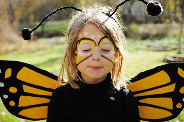 disfraz de mariposa para nios Disfraz abeja maquillaje