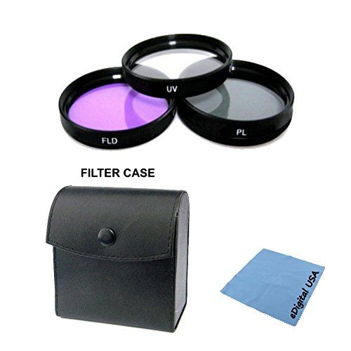 High Definition UVCPLFLD Filter Lens Kit For 24mm f28D AF NIKKOR 28mm f28D AF NIKKOR 35mm f2D AF NIKKOR 50mm f14D AF NIKKOR 50mm f18D AF NIKKOR and other 52mm Nikon Lenses *** Click on the image for additional details.