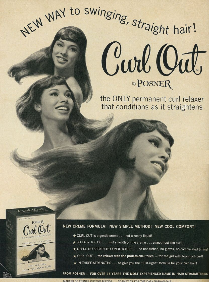 1967 Posner Curl Relaxer Ad Soul Baby 2