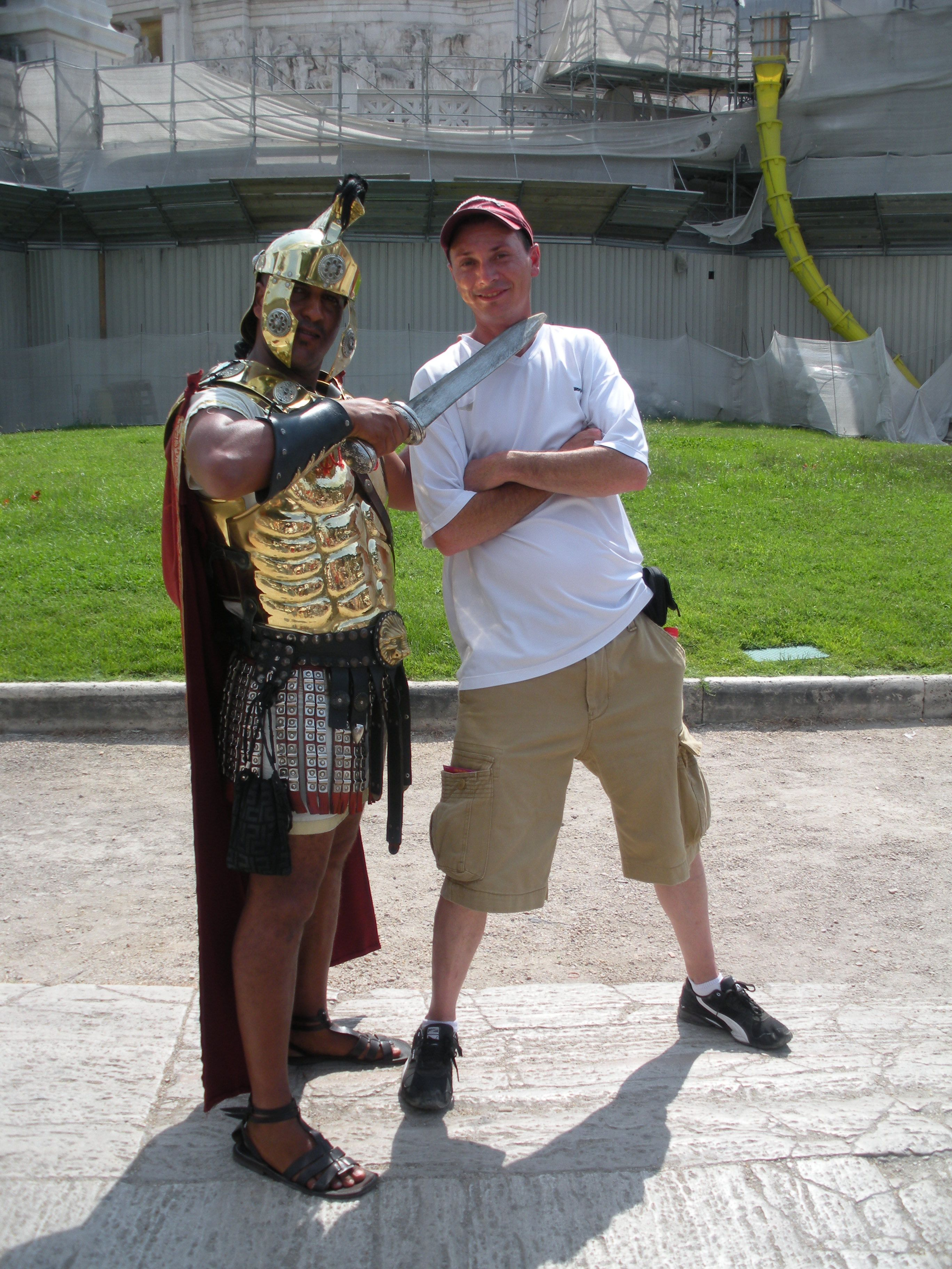 I Aint Scared Of This Gladiator