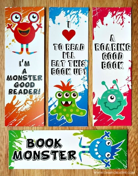 image relating to Free Printable Bookmarks for Kids named Printable Bookmark Coloring Internet pages for Small children Bookmarks