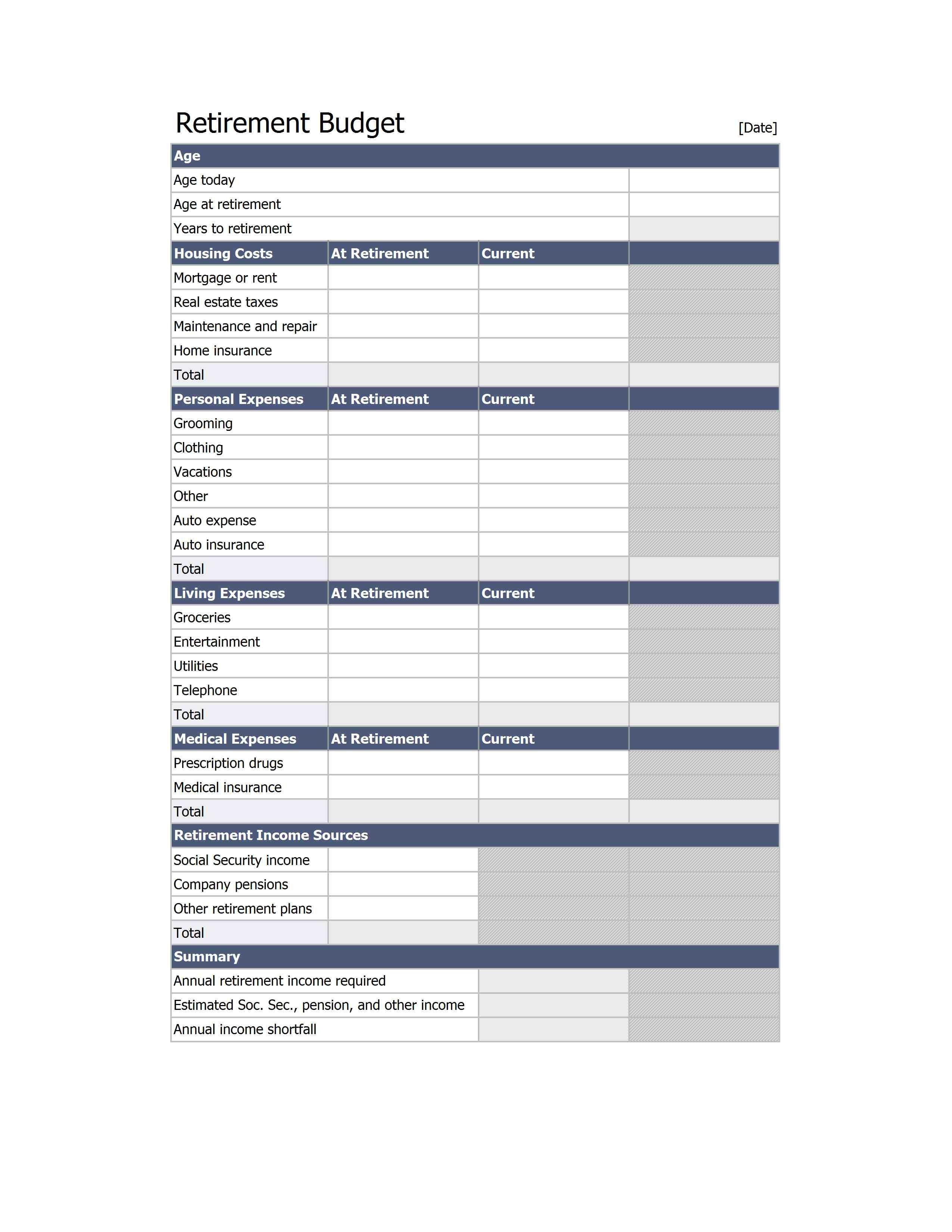Exceltemplate Xls Xlstemplate Xlsformat Excelformat Microsoftexcel Home Budget Template Retirement Budget Budget Spreadsheet
