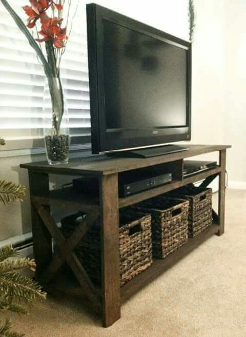 Baskets X Design Tv Stands Diy Tv Stand Diy Tv Bedroom Tv Stand