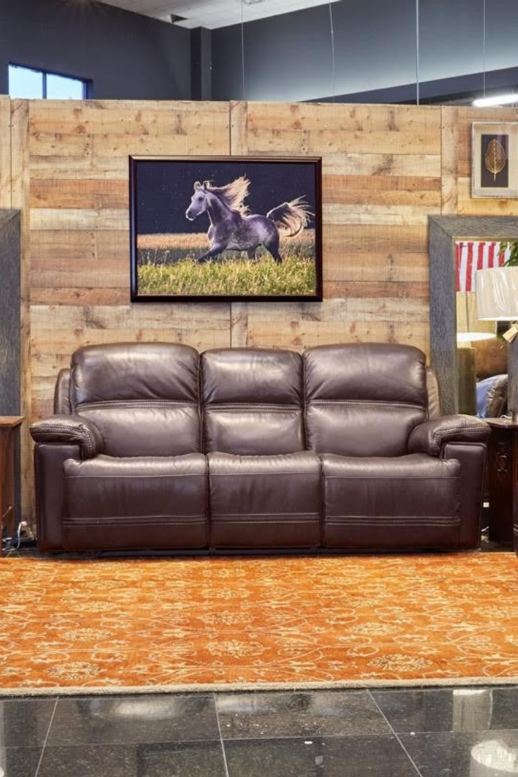 You And Your Home Deserve The Superior Comfort Of Gallery Furniture S Fenwick Power Reclining Sofa His Power Reclining Sofa Gallery Furniture Power Recliners