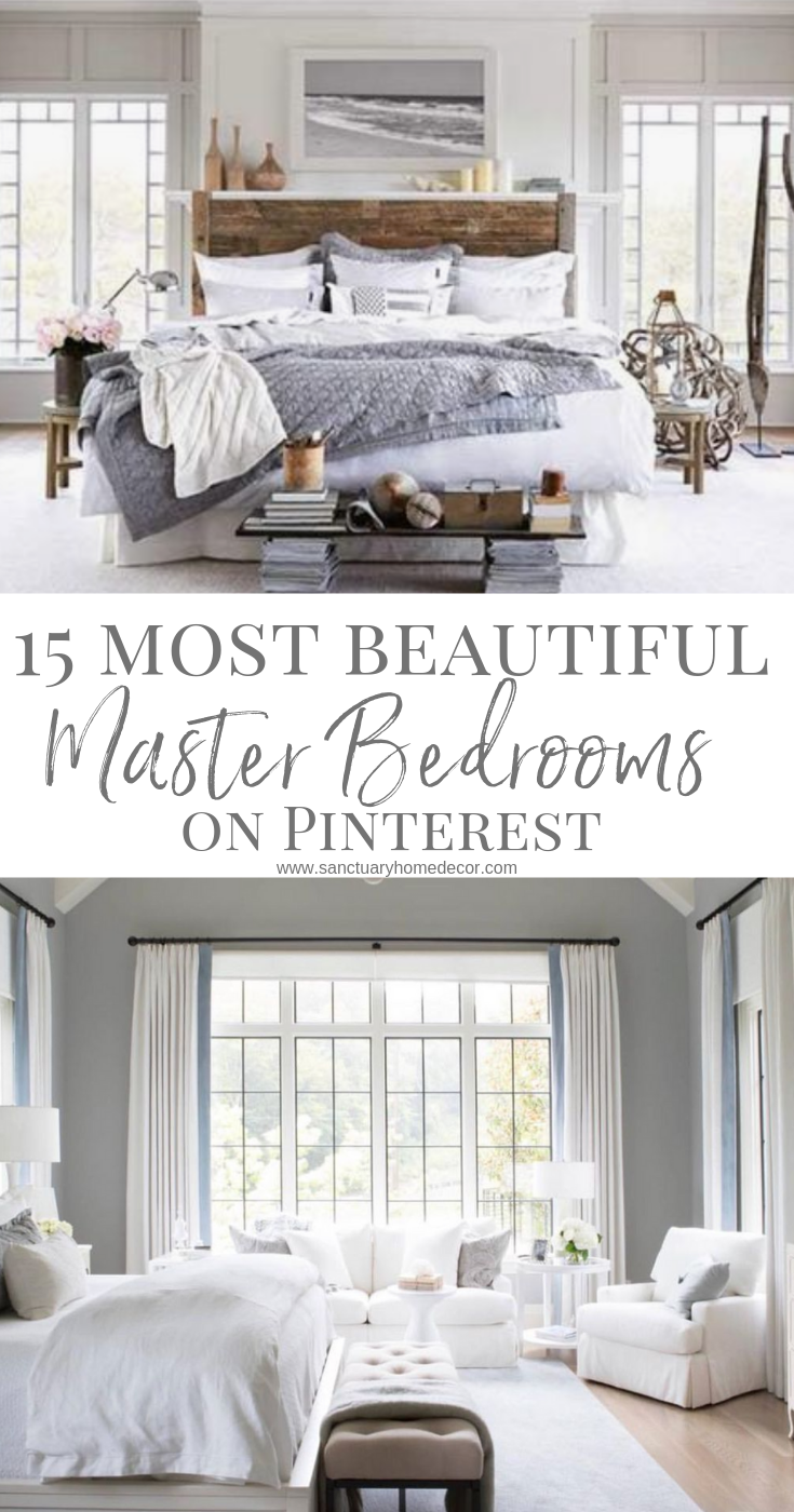 The 15 Most Beautiful Master Bedrooms On Pinterest Master