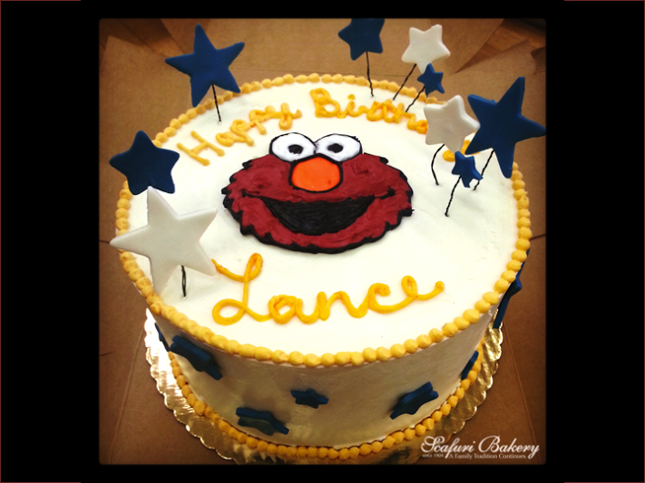 Elmo Kids Birthday Cake Scafuri Bakery Scafuri Cakes for all