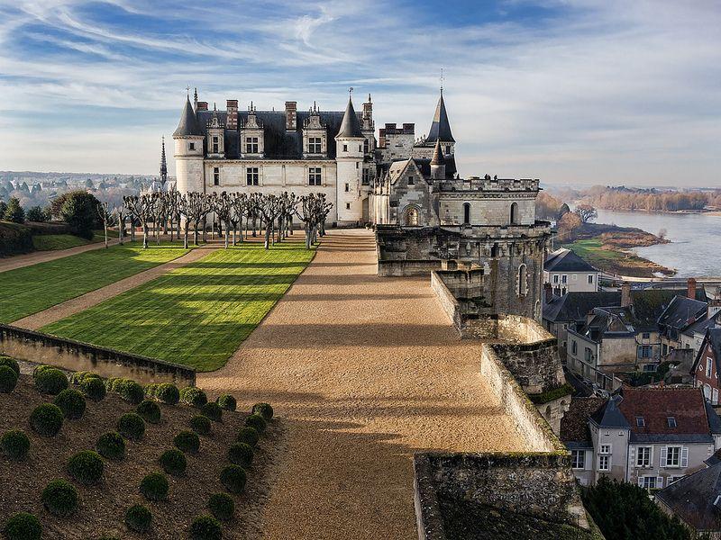 Le château d'Amboise qui vit grandir le jeune François 1er jusqu'en 1508