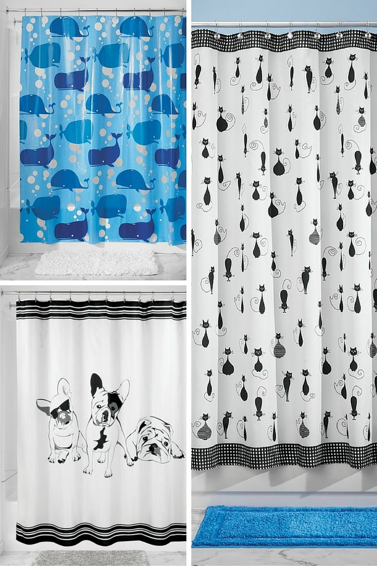 We Are Obsessed With These Pet Shower Curtains French Bulldog