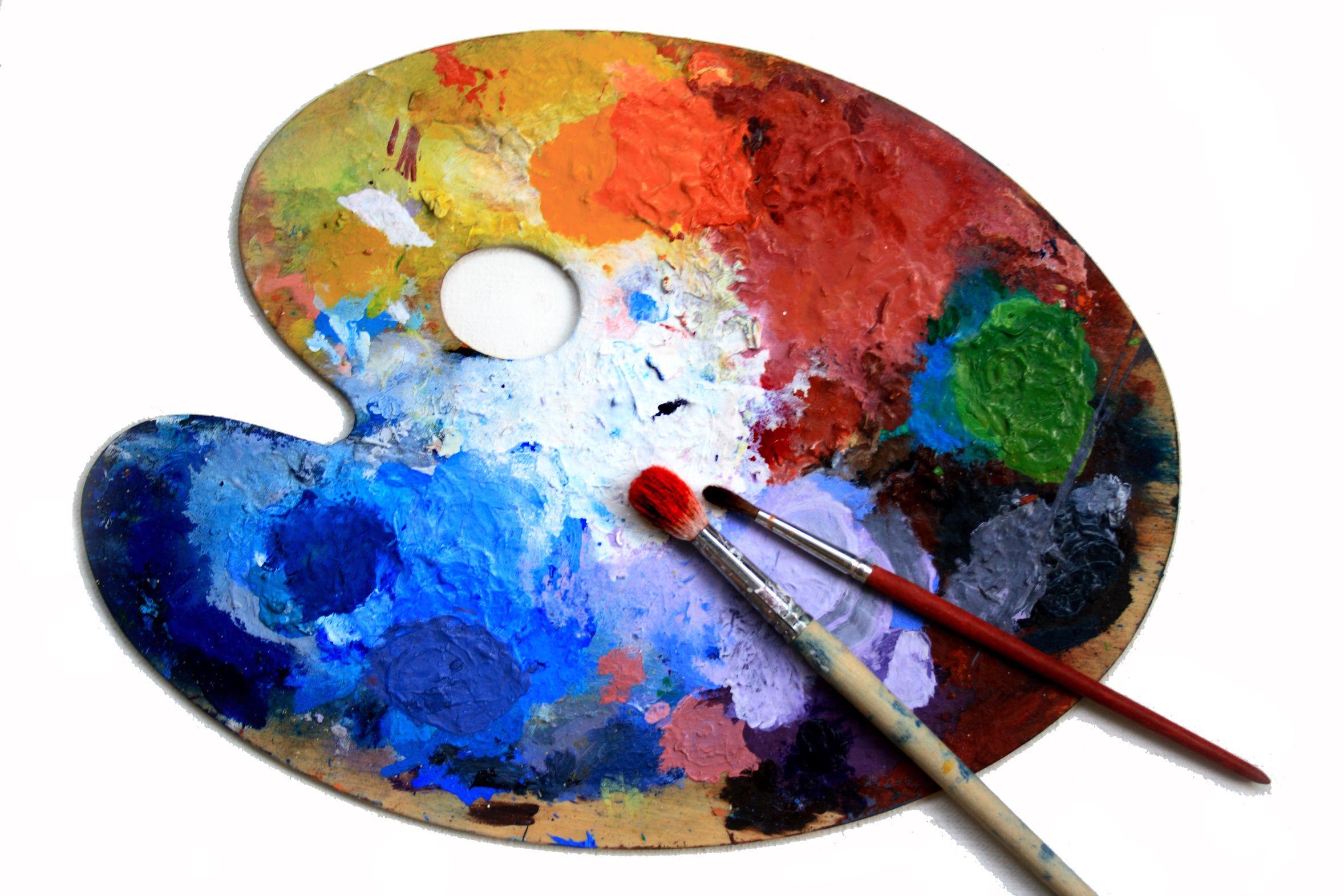 Palette Peinture Art Palette Kenya Art Art