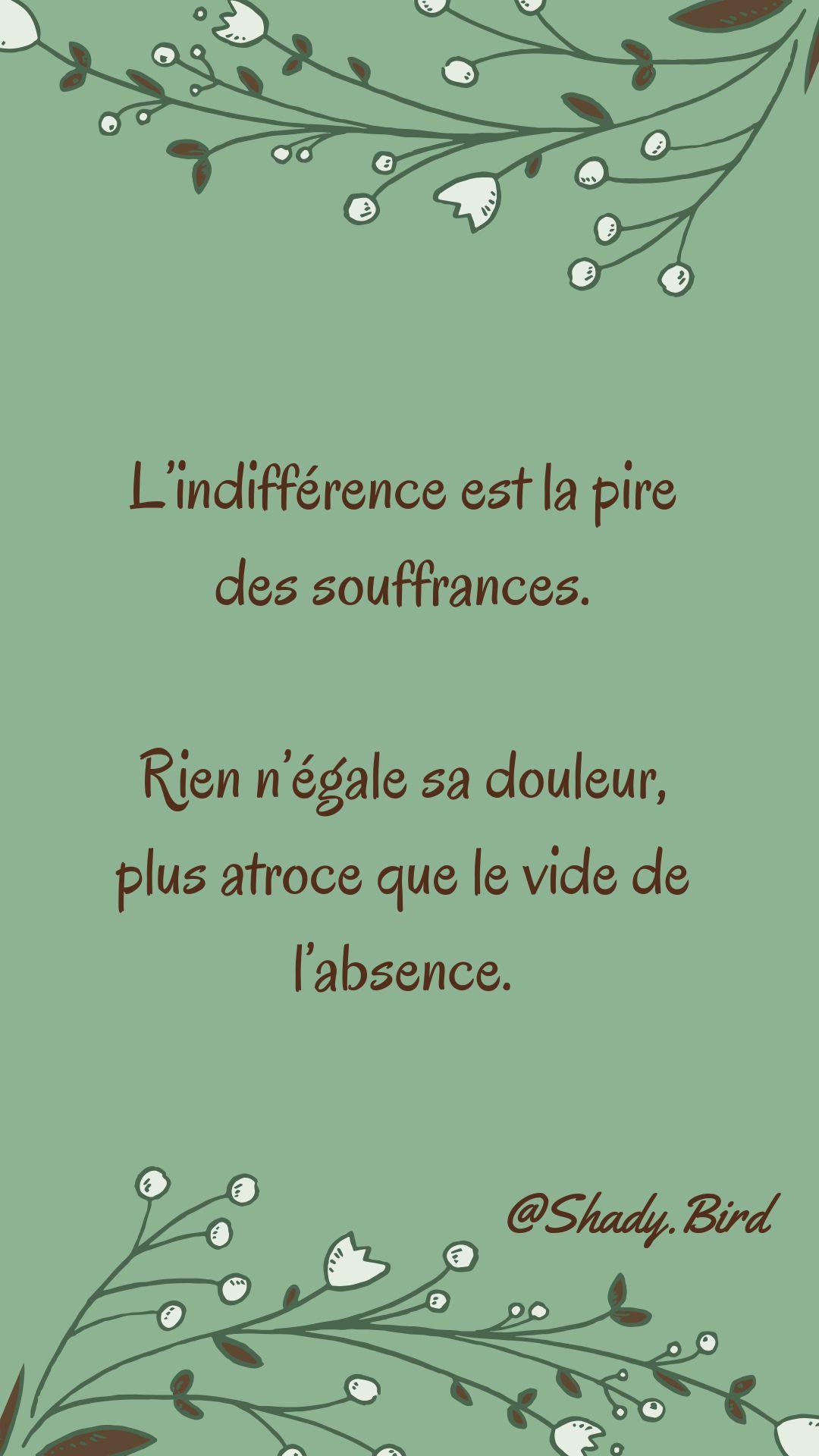 L Indifférence Est Le Pire Des Mépris : indifférence, mépris, Meilleures, Idées, Citation, Indifférence, Citation,, Pensée,, Phrase
