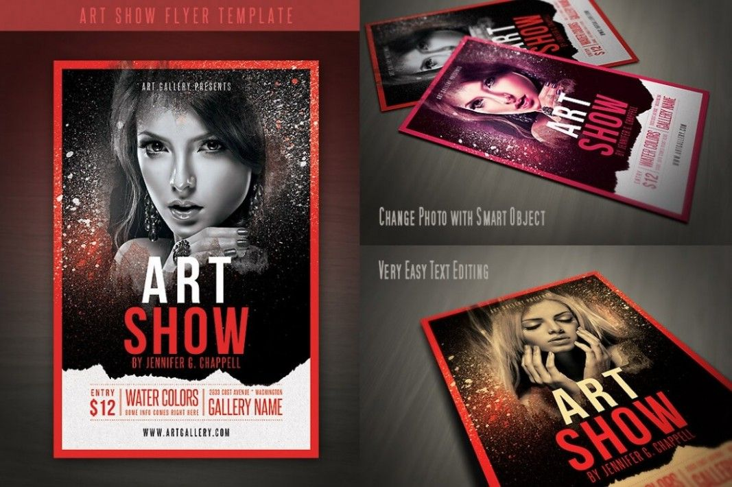 3 Part Card Template 3 Fantastic Vacation Ideas For 3 Part Card Template Flyer Template Flyer Art Show