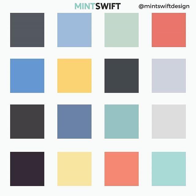 Winning Moments UK colour palette | MintSwift Design
