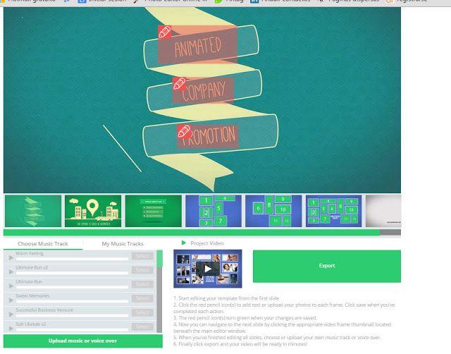 RenderForest crear  Intros y presentaciones de videos