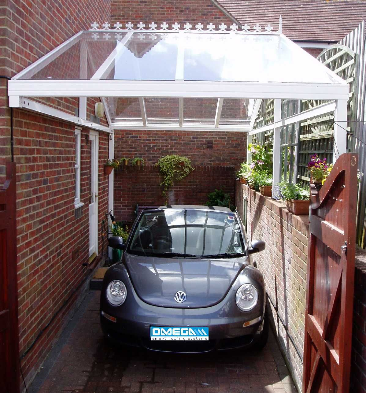 A Customised Clear As Glass Carport Carport Outdoor Spaces Cozy Living
