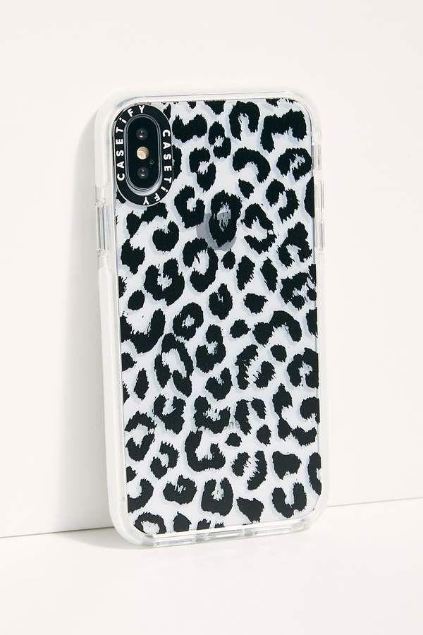 Impact Phone Case – leopard print