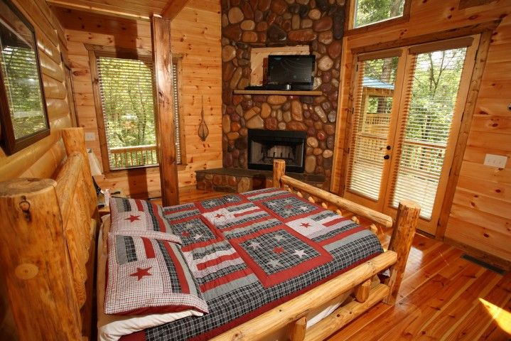 cabin decorating ideas | Cabin-chic Bedroom Decorating Ideas | Home ...