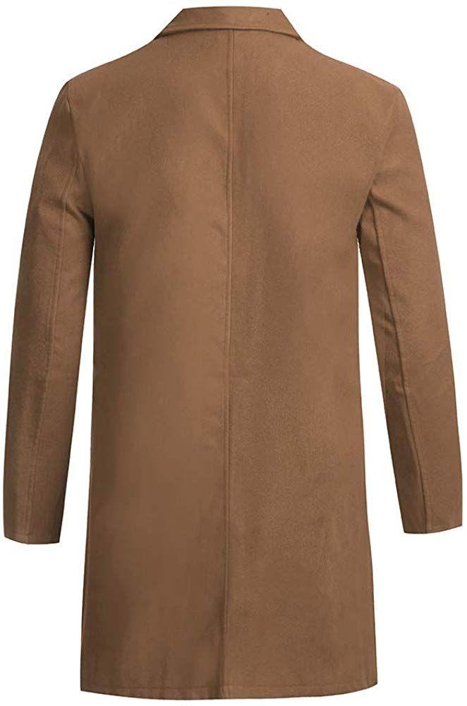 Modaworld Uomo Top Giacca Uomo Cappotto Manica Lunga Caldo Pullover Gotico ricamare Bottone Cappotto Uniforme Costume Outwear Praty Autunno//Inverno