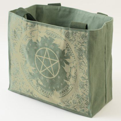 #customized - #Ancient Magick Pagan Canvas Tote