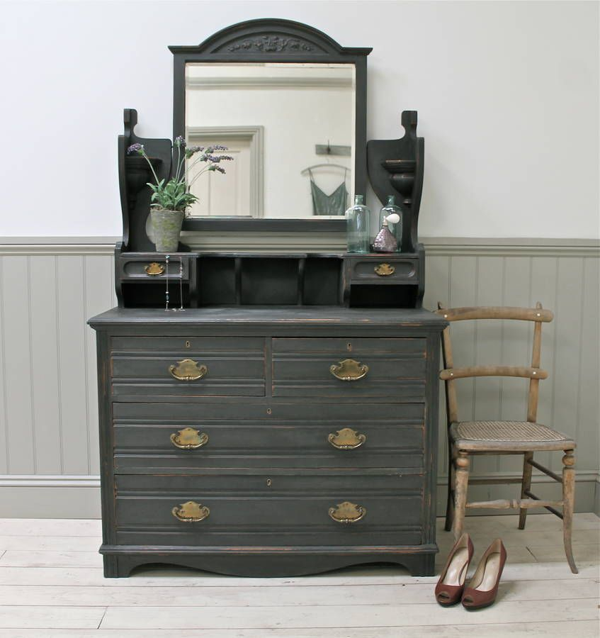 Best Are You Interested In Our Black Dressing Table Distressed 640 x 480