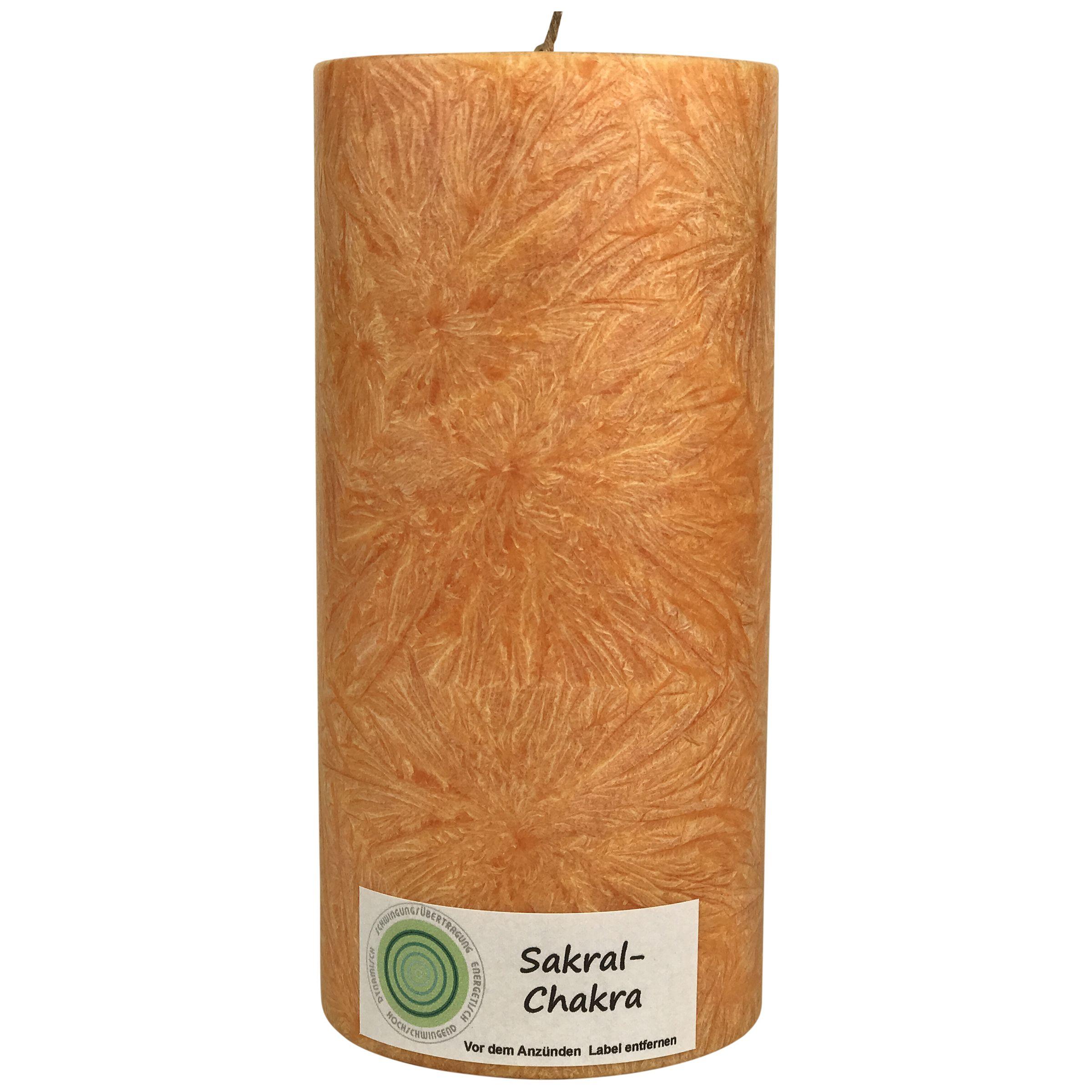 Sakral Chakra Kerze Chakra Kerzen Und Stumpenkerzen
